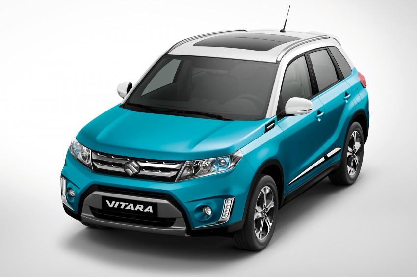 Suzuki Vitara – B-segment SUV fully unveiled in Paris Image #277700