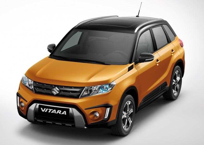 Suzuki Vitara – B-segment SUV fully unveiled in Paris Image #277701