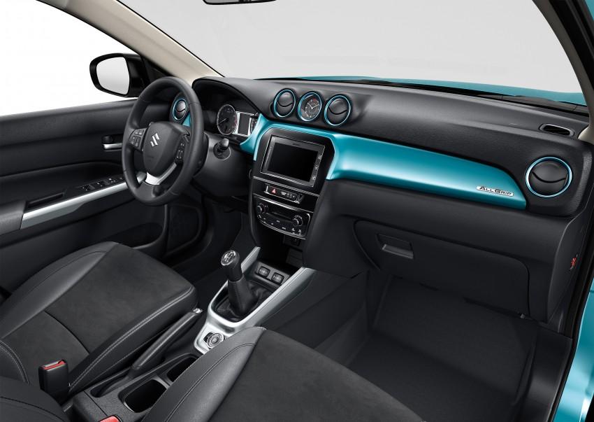 Suzuki Vitara – B-segment SUV fully unveiled in Paris Image #277695
