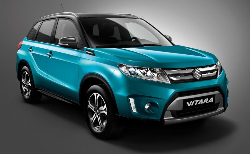 Suzuki Vitara – B-segment SUV fully unveiled in Paris Image #277689