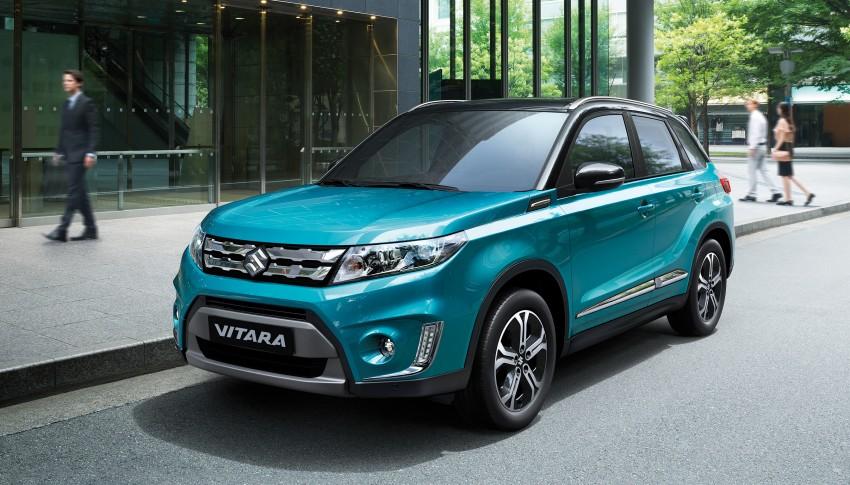 Suzuki Vitara – B-segment SUV fully unveiled in Paris Image #277687