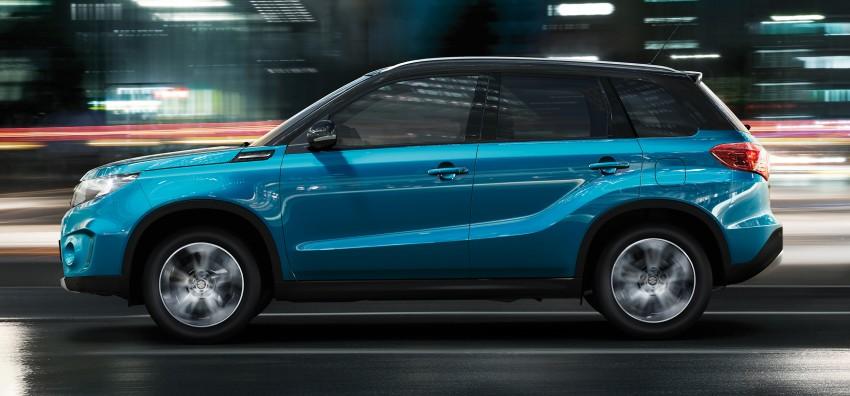 Suzuki Vitara – B-segment SUV fully unveiled in Paris Image #277686