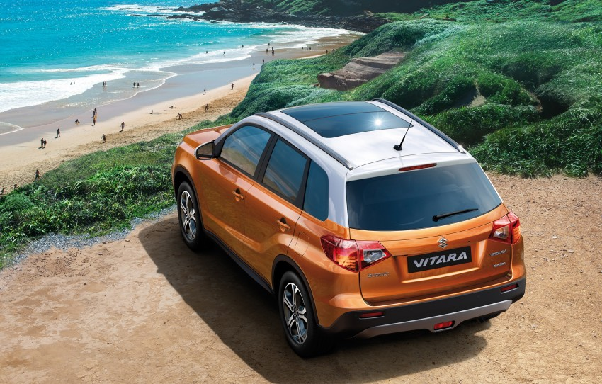 Suzuki Vitara – B-segment SUV fully unveiled in Paris Image #277685