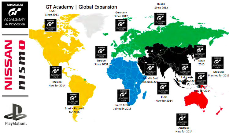 GT Academy – <em>Gran Turismo</em> driver development competition set to expand into Malaysia in 2015 Image #283235