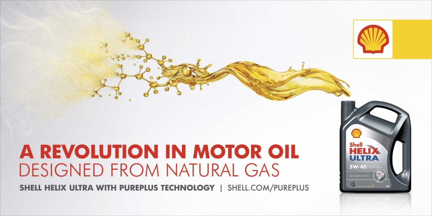 New Shell Helix Ultra with PurePlus Technology – industry-leading motor oil made from natural gas Image #284195