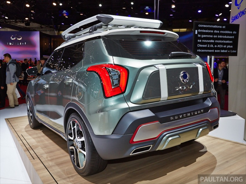 SsangYong XIV-Air and XIV-Adventure debut in Paris Image #278078