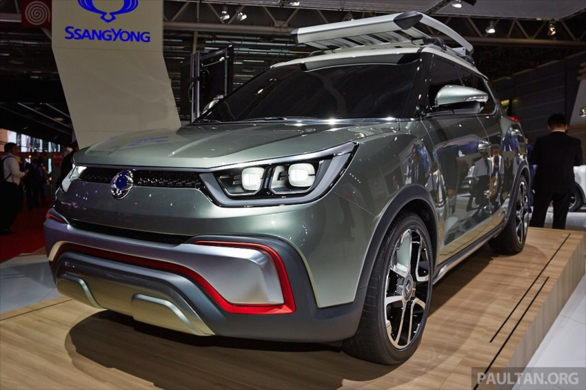 SsangYong XIV-Air and XIV-Adventure debut in Paris Image #278081