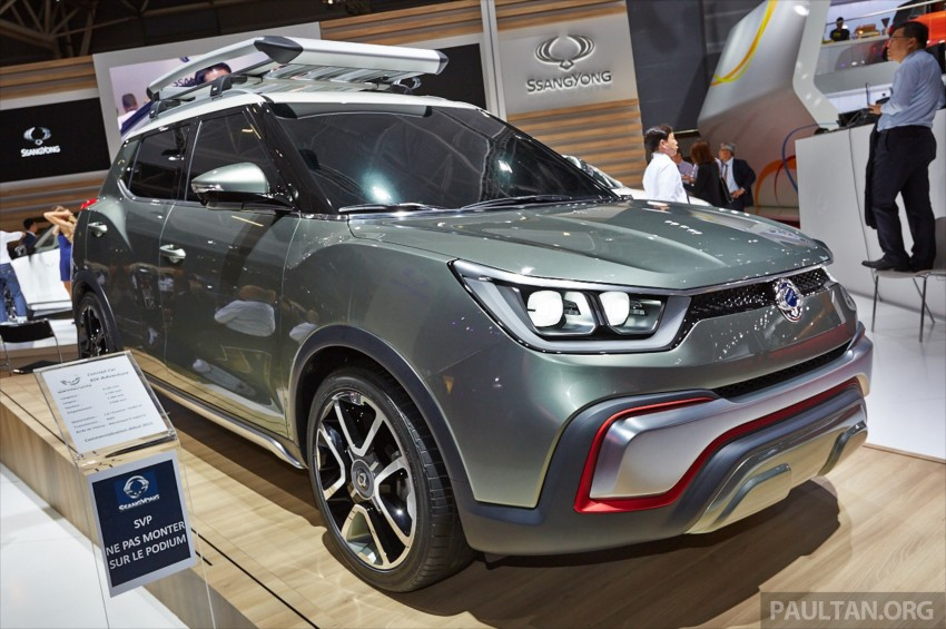 SsangYong XIV-Air and XIV-Adventure debut in Paris Image #278083