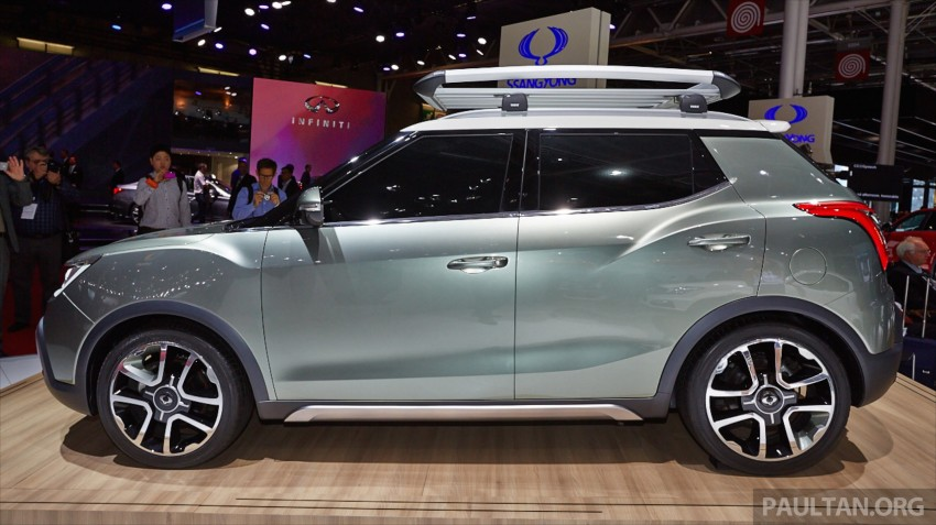 SsangYong XIV-Air and XIV-Adventure debut in Paris Image #278084