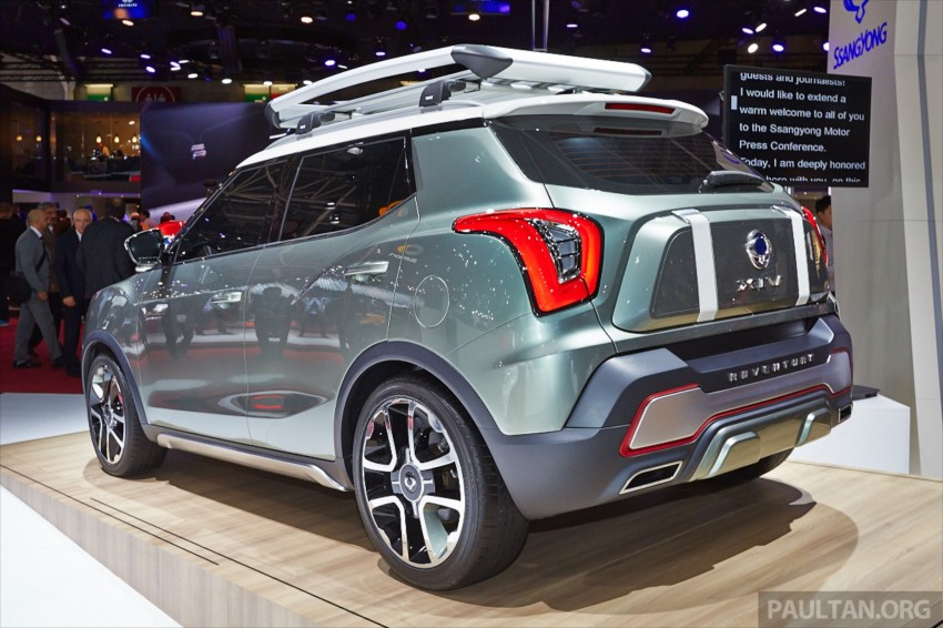 SsangYong XIV-Air and XIV-Adventure debut in Paris Image #278085