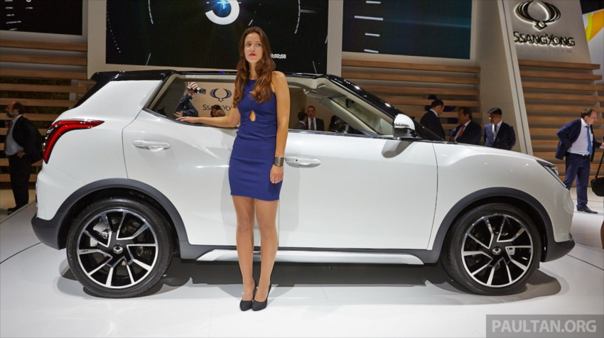 SsangYong XIV-Air and XIV-Adventure debut in Paris Image #278067