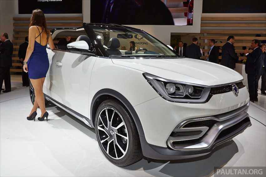 SsangYong XIV-Air and XIV-Adventure debut in Paris Image #278068