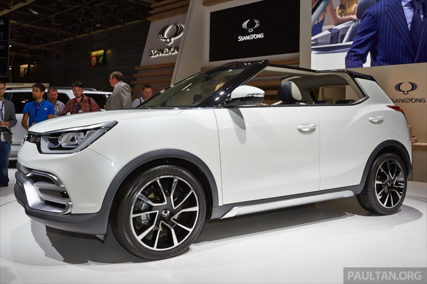 SsangYong XIV-Air and XIV-Adventure debut in Paris Image #278072