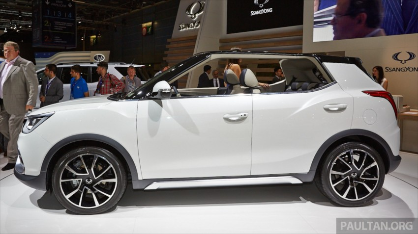 SsangYong XIV-Air and XIV-Adventure debut in Paris Image #278073