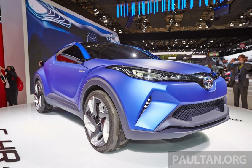 Toyota C-HR Concept: spirit of the RAV4, Prius and 86 Image #277437