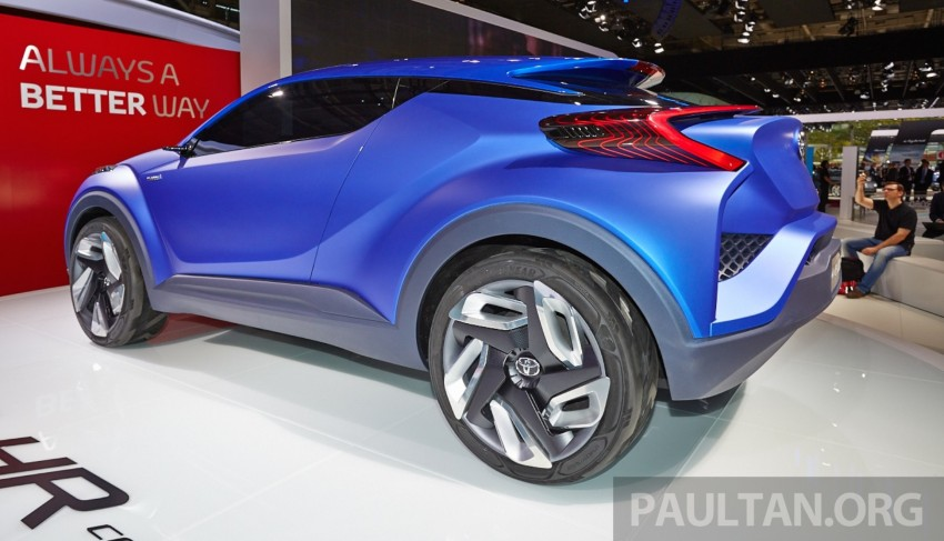 Toyota C-HR Concept: spirit of the RAV4, Prius and 86 Image #277429