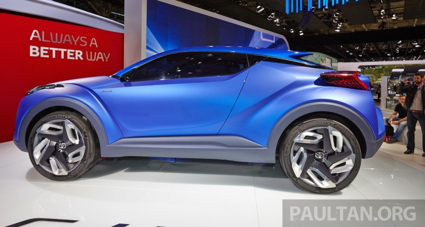 Toyota C-HR Concept: spirit of the RAV4, Prius and 86 Image #277430