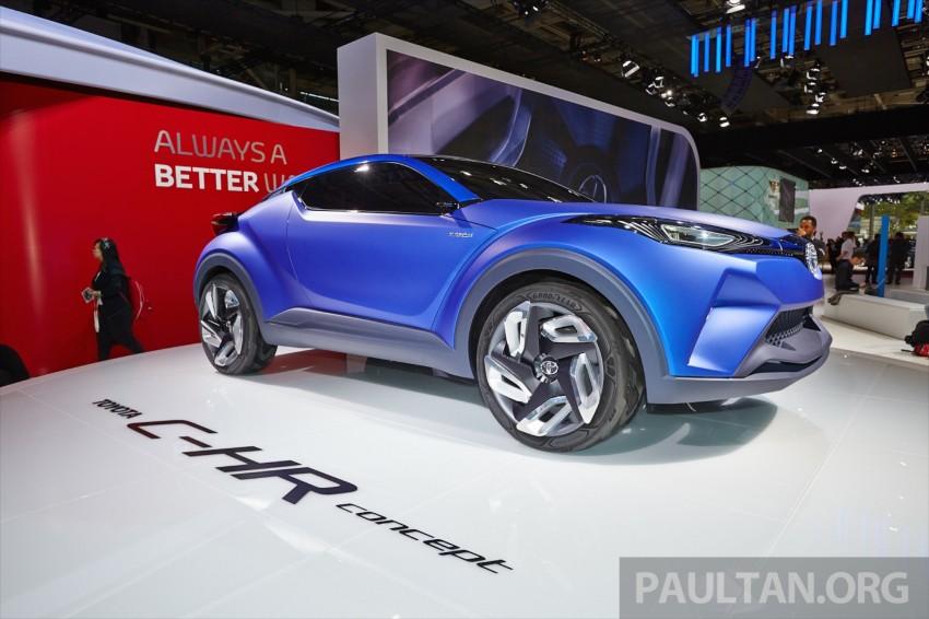 Toyota C-HR Concept: spirit of the RAV4, Prius and 86 Image #277438