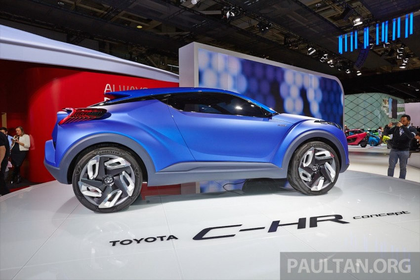 Toyota C-HR Concept: spirit of the RAV4, Prius and 86 Image #277432