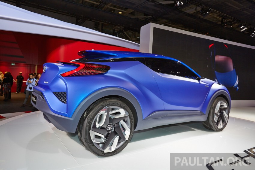 Toyota C-HR Concept: spirit of the RAV4, Prius and 86 Image #277433