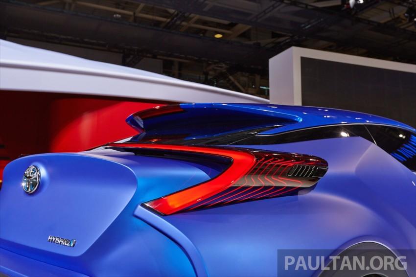 Toyota C-HR Concept: spirit of the RAV4, Prius and 86 Image #277434