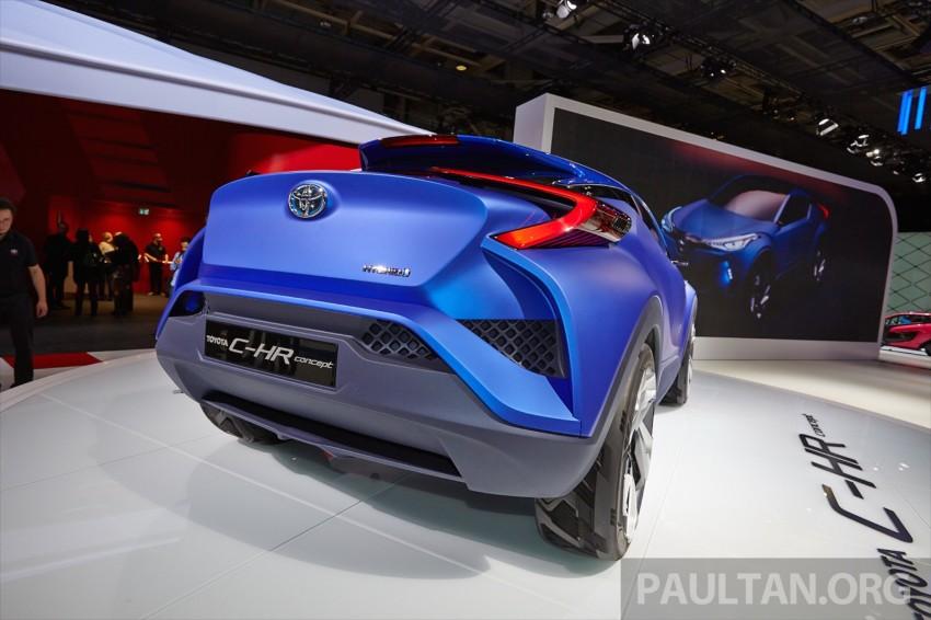 Toyota C-HR Concept: spirit of the RAV4, Prius and 86 Image #277435