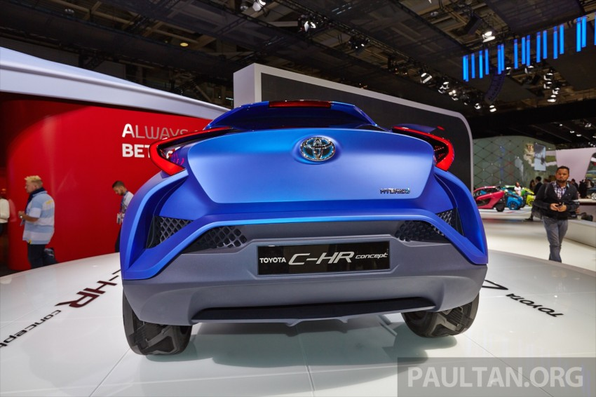 Toyota C-HR Concept: spirit of the RAV4, Prius and 86 Image #277436