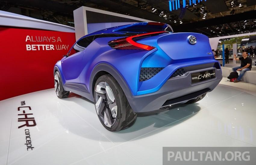 Toyota C-HR Concept: spirit of the RAV4, Prius and 86 Image #277427