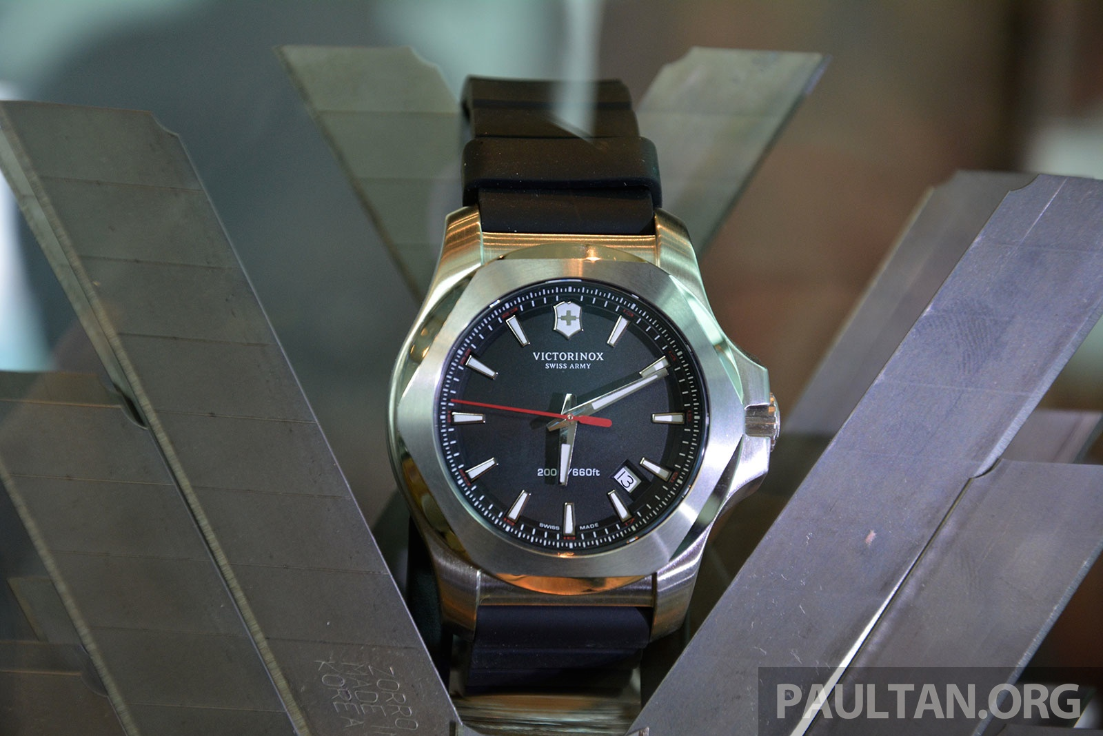 Victorinox Swiss Army I.N.O.X. launched in Malaysia