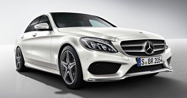 W205_Mercedes Benz_C_250_AMG_Line_Malaysia_04. Mercedes Benz ...