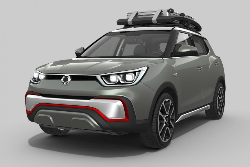 SsangYong XIV-Air and XIV-Adventure debut in Paris Image #277479