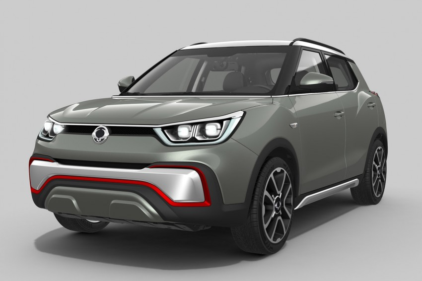 SsangYong XIV-Air and XIV-Adventure debut in Paris Image #277480