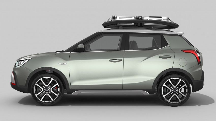 SsangYong XIV-Air and XIV-Adventure debut in Paris Image #277481