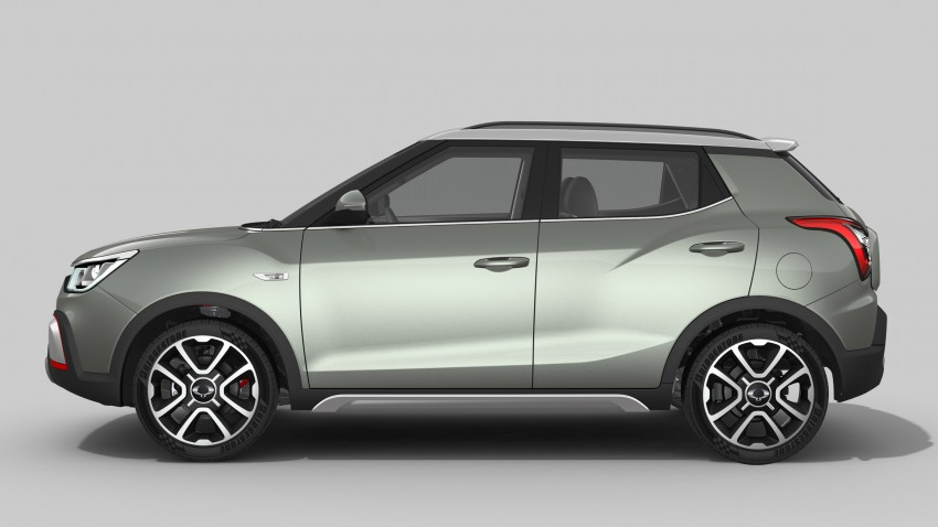 SsangYong XIV-Air and XIV-Adventure debut in Paris Image #277482