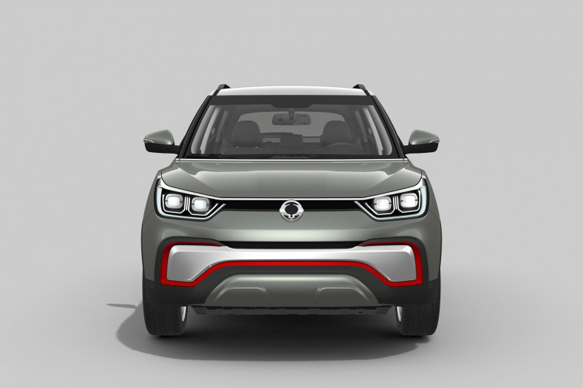 SsangYong XIV-Air and XIV-Adventure debut in Paris Image #277484