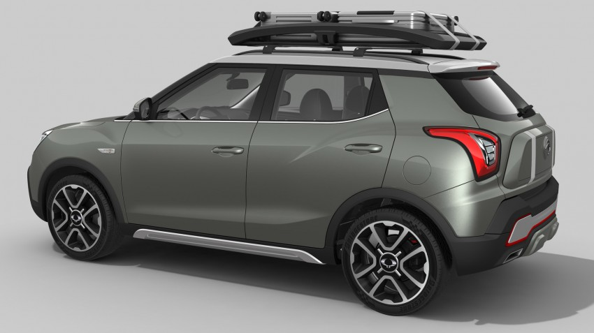 SsangYong XIV-Air and XIV-Adventure debut in Paris Image #277487