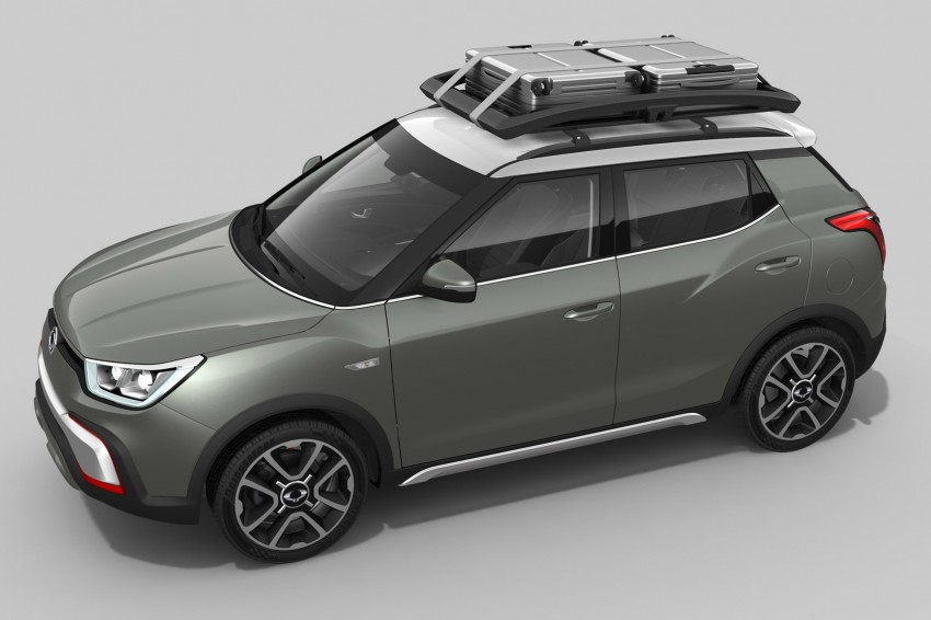 SsangYong XIV-Air and XIV-Adventure debut in Paris Image #277489