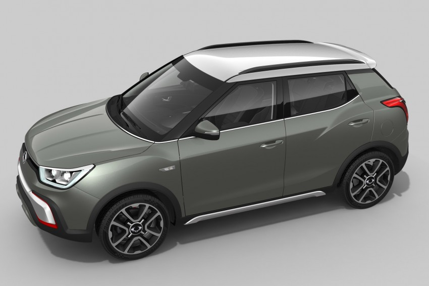 SsangYong XIV-Air and XIV-Adventure debut in Paris Image #277490