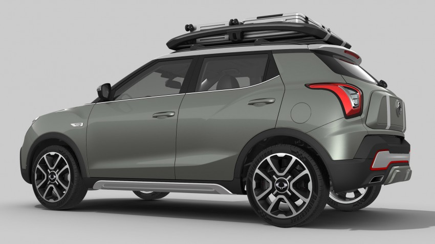 SsangYong XIV-Air and XIV-Adventure debut in Paris Image #277491