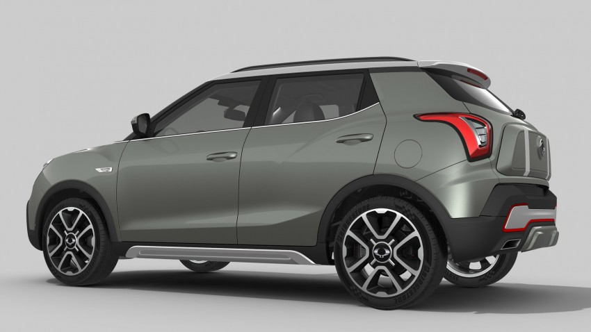 SsangYong XIV-Air and XIV-Adventure debut in Paris Image #277492