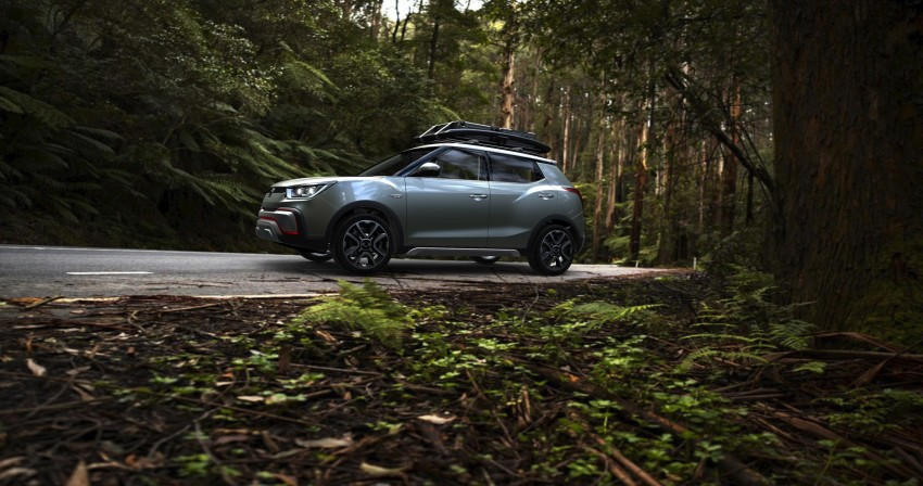 SsangYong XIV-Air and XIV-Adventure debut in Paris Image #277494