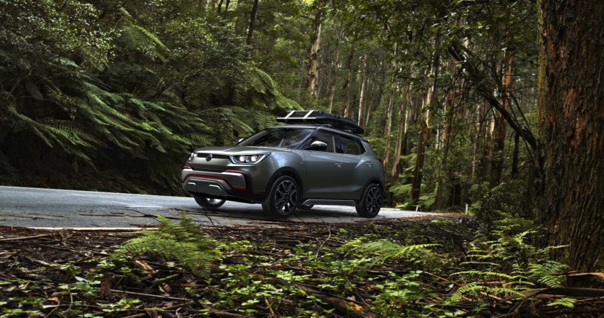 SsangYong XIV-Air and XIV-Adventure debut in Paris Image #277496