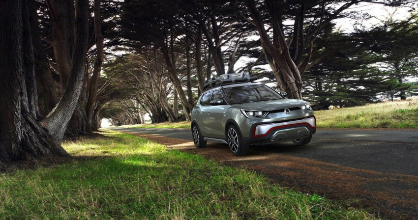 SsangYong XIV-Air and XIV-Adventure debut in Paris Image #277500