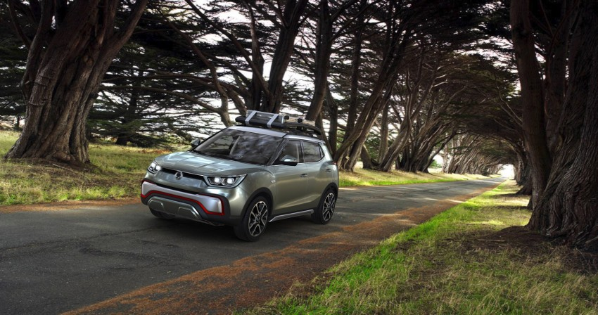 SsangYong XIV-Air and XIV-Adventure debut in Paris Image #277501