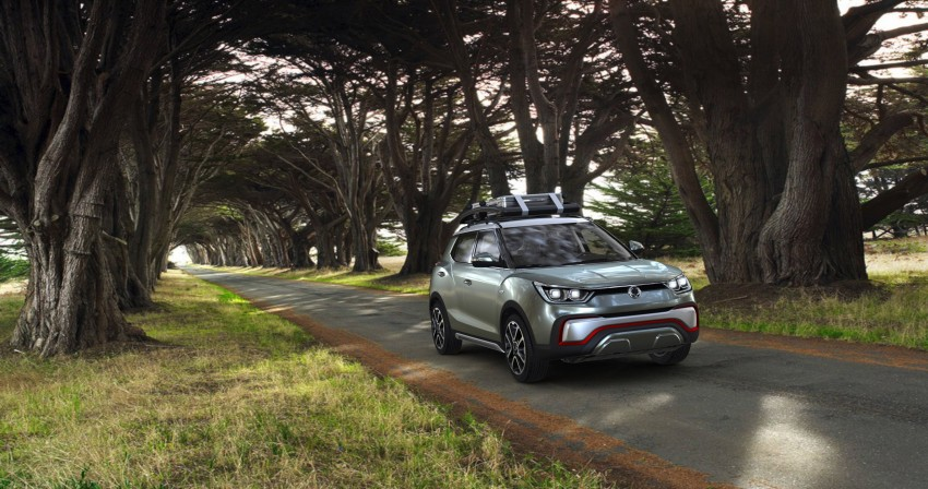 SsangYong XIV-Air and XIV-Adventure debut in Paris Image #277503