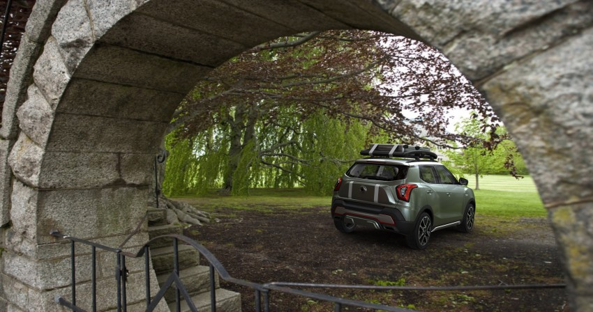 SsangYong XIV-Air and XIV-Adventure debut in Paris Image #277504