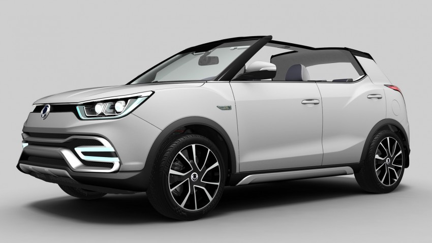 SsangYong XIV-Air and XIV-Adventure debut in Paris Image #277650