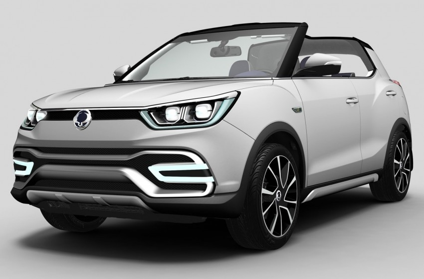 SsangYong XIV-Air and XIV-Adventure debut in Paris Image #277651