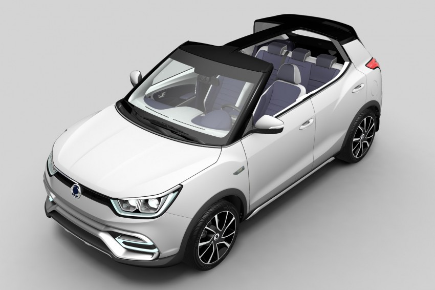 SsangYong XIV-Air and XIV-Adventure debut in Paris Image #277653