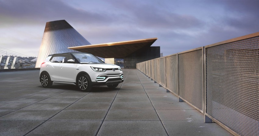 SsangYong XIV-Air and XIV-Adventure debut in Paris Image #277662